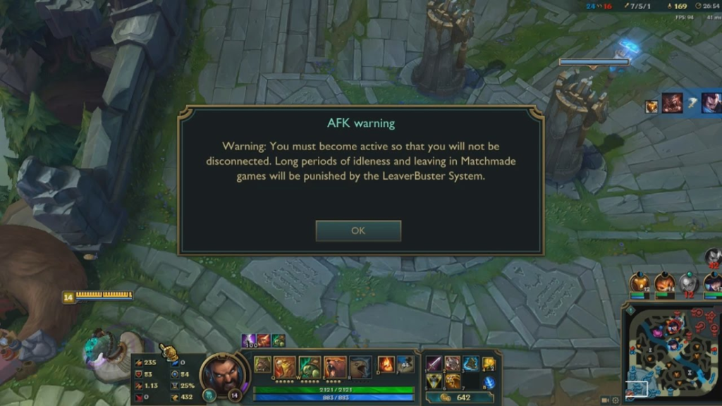 AFK, trolling and intentional feeding will be automatically detected and seriously punished!!! 2