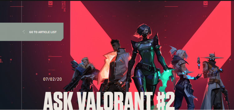 Riot's 2nd Q&A Revealed the Latest Plan For The Future of Valorant 1