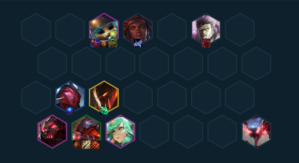 Teamfight Tactics: Top 3 Strange Team Comps are used by Challengers 3