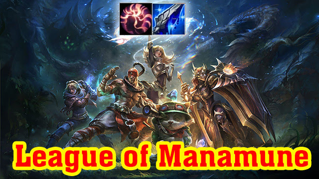 Here are 3 champions that benefit from Manamune 1