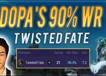 Guide: Destroy Mid Lane with Twisted Fate's Dopa Playstyle 4