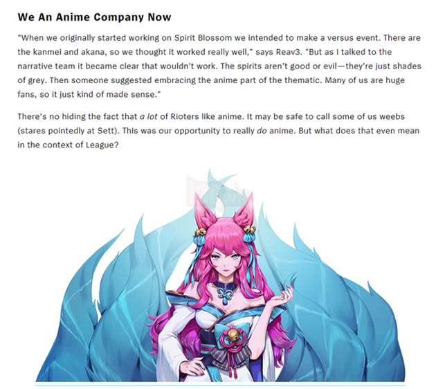 """Riot Games: """"We An Anime Company Now"""" 3"""