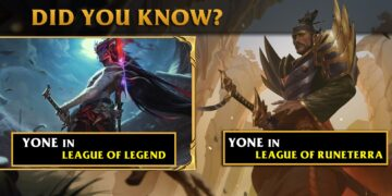 Yone had been Leaked by Riot Games 6 Months ago in LOR and there are more Secrets 2