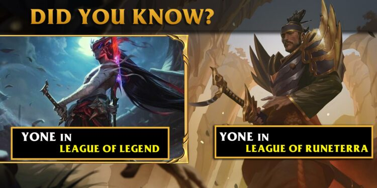 Yone had been Leaked by Riot Games 6 Months ago in LOR and there are more Secrets 1