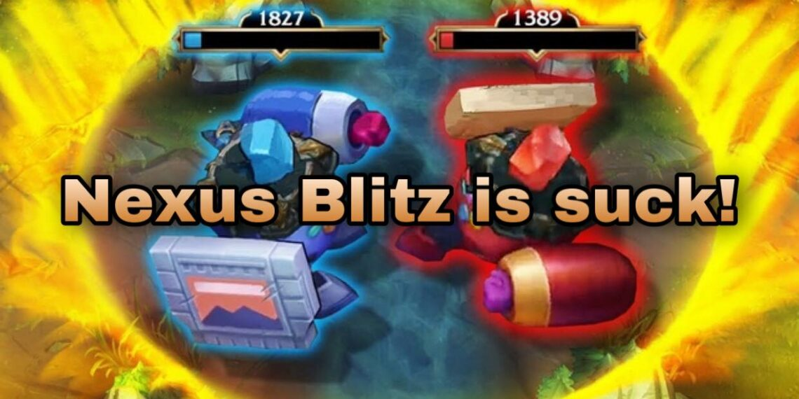 """The League of Legends community is fed up with Nexus Blitz 
