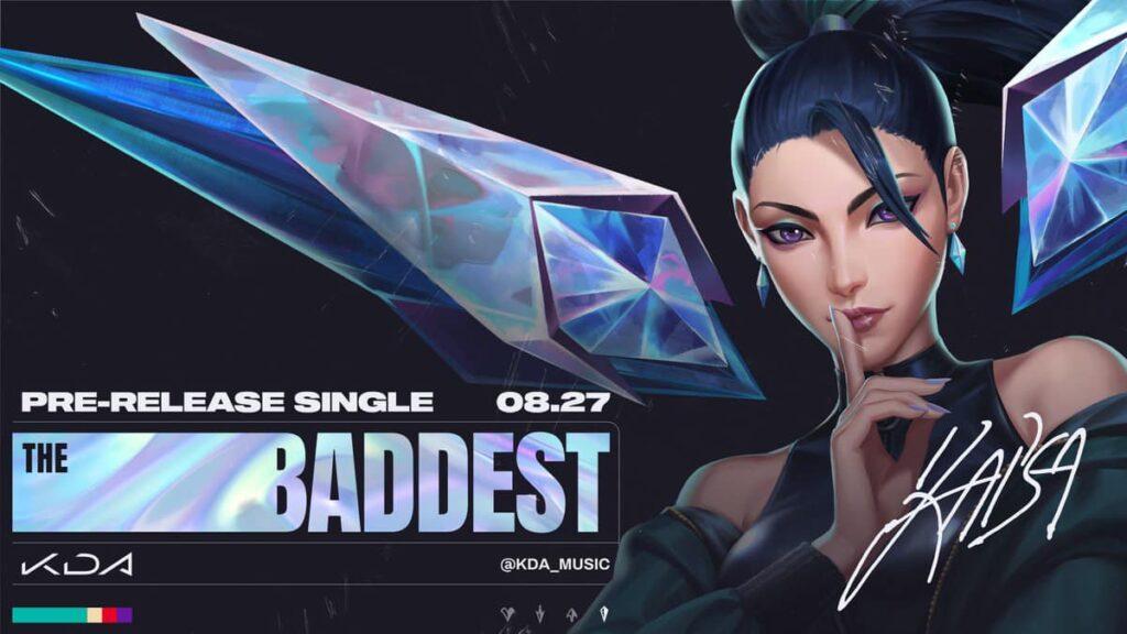 "K/DA Returns with a Brand New Single ""THE BADDEST""! 2"