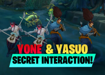 Easter egg found in Yone and Yasuo special interaction 8