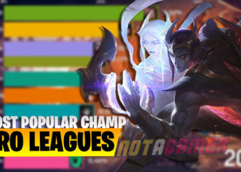 League of Legends: Find out The Most Popular Champion in Pro Leagues Worldwide 2