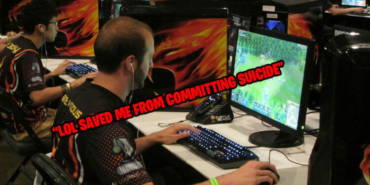 "Gamer confides: ""League of Legends saved me from committing suicide, and helped me make some friends."" 1"