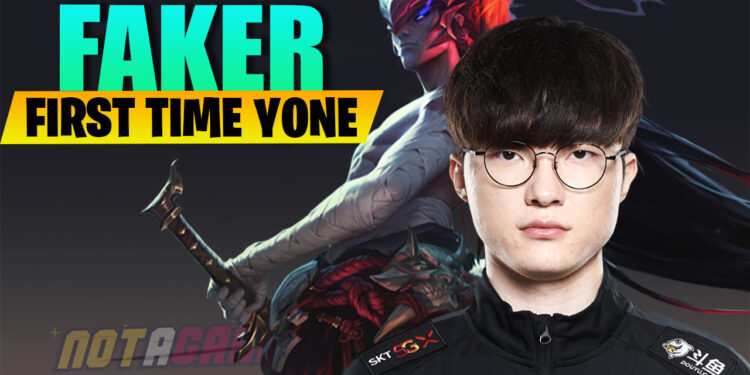 League of Legends: Analysis on the first time Faker playing Yone in the bot lane 1