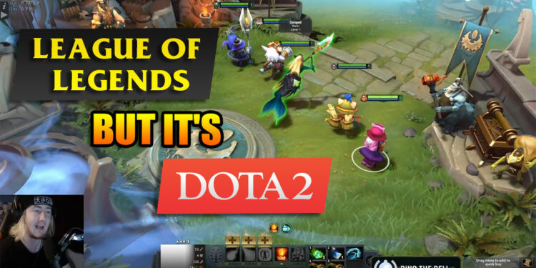 League of Legends Champions Can Now Play in the World of Dota 2 1