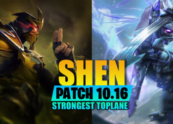 League of legends: What make Shen become the strongest toplane champion in patch 10.16? 1