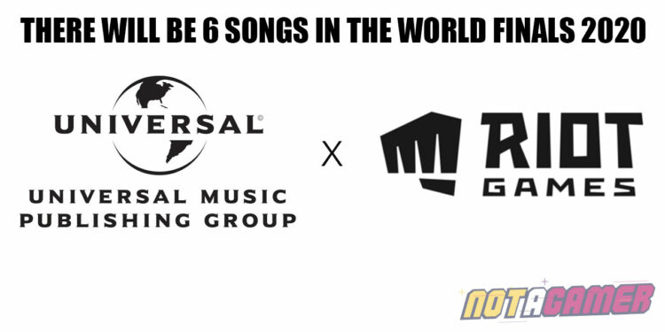 Riot Games collaborate with Universal Music - There will be 6 songs in The World Finals 2020 1