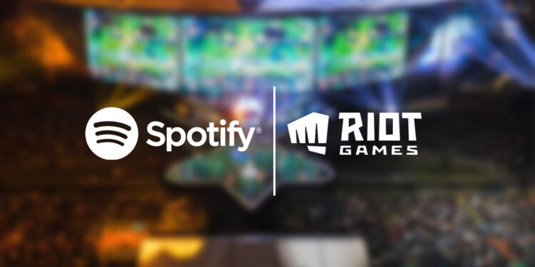 Riot Games announced partnership with Spotify 1