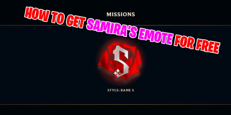 Samira's Emote Appears in Summoner's Rifts and How to Get That 1