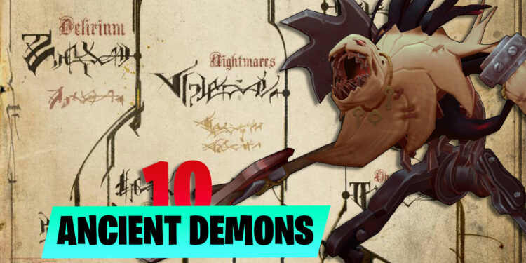 Secrets of the 10 Ancient Demons in League of Legends Universe 1