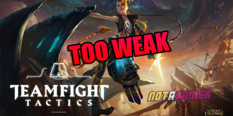 Teamfight Tactics: Jinx is confirmed to be the worst 4-gold unit and about to get indirectly buffed next patch 1