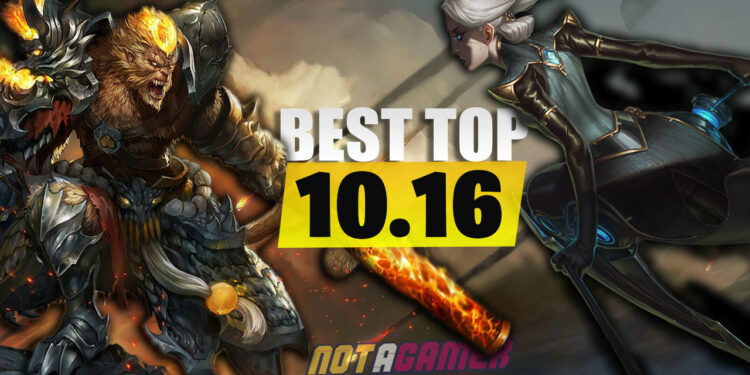 These are The Most Suitable Top Lane Fighters to climb Rank Patch 10.16. 1