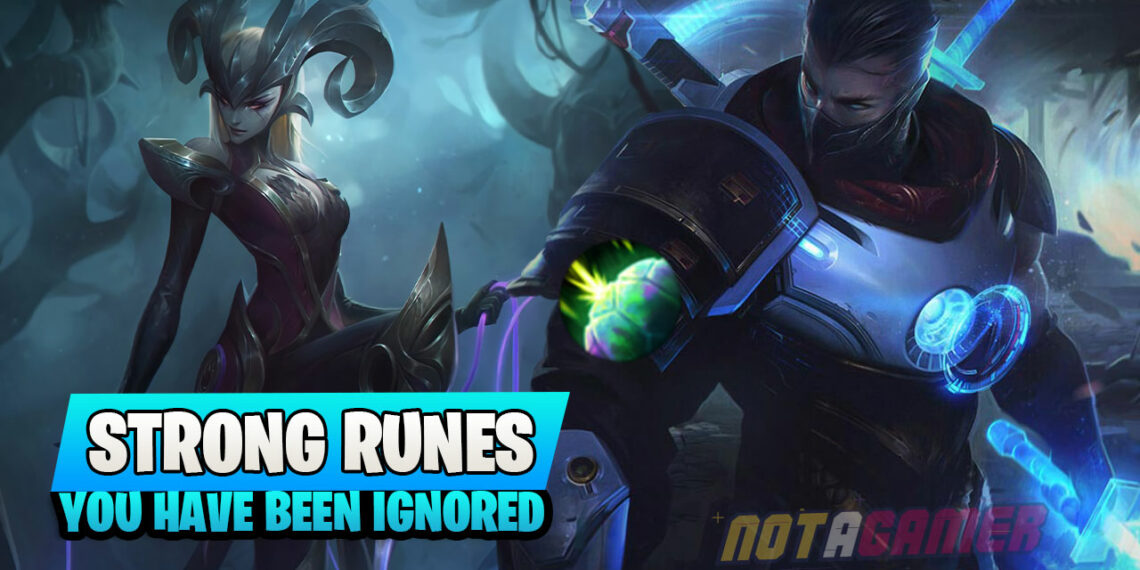 Top Strong Runes have been Ignored by many Gamers in Patch 10.17