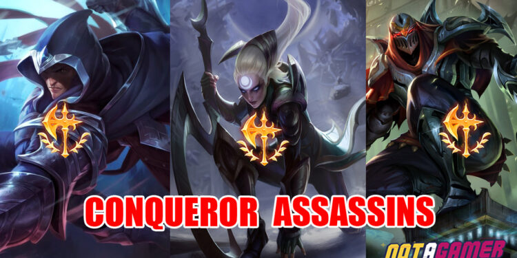 League of Legends: Why are assassins using Conqueror instead of Electrocute? 1