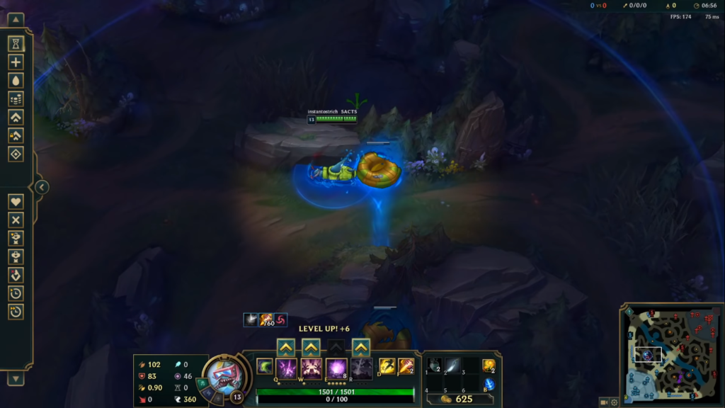 League of Legends: New useful tip for using Rek'sai's tunnels!!! 2