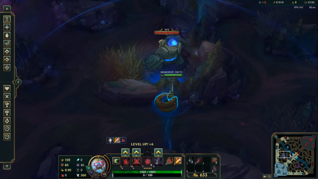 League of Legends: New useful tip for using Rek'sai's tunnels!!! 3