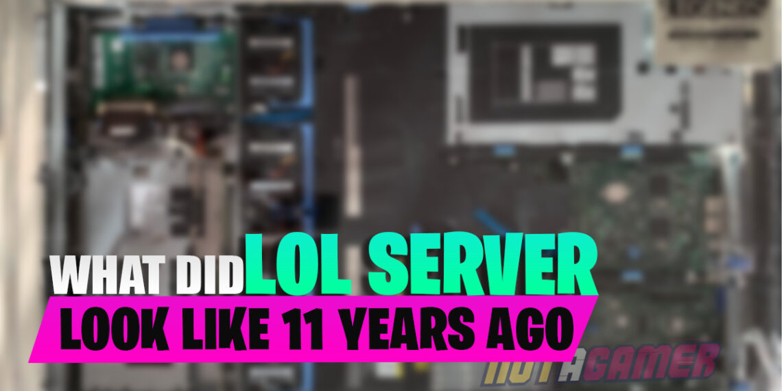 What Did The First League of Legends Game Server Look Like 11 Years Ago 1