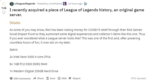 What Did The First League of Legends Game Server Look Like 11 Years Ago