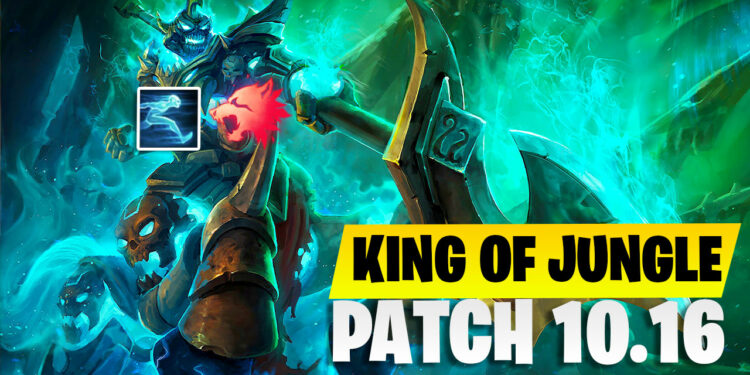 What Made Hecarim Become a King of Jungle in Patch 10.16 with an Incredibly 54 Percent Win Rate? 1