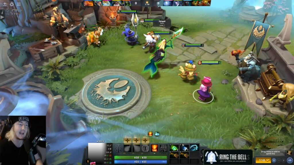 League of Legends Champions Can Now Play in the World of Dota2