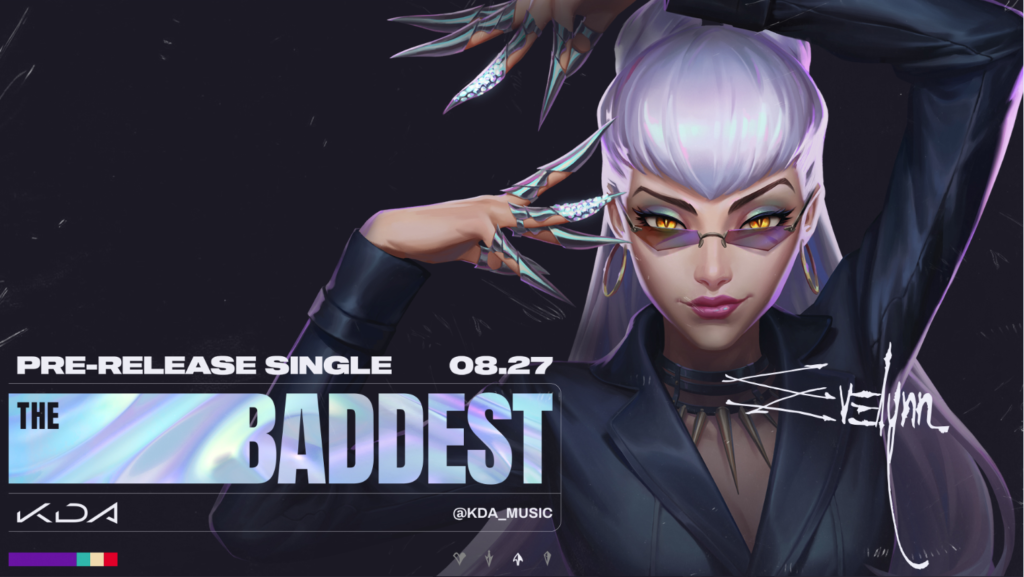 "K/DA Returns with a Brand New Single ""THE BADDEST""! 1"