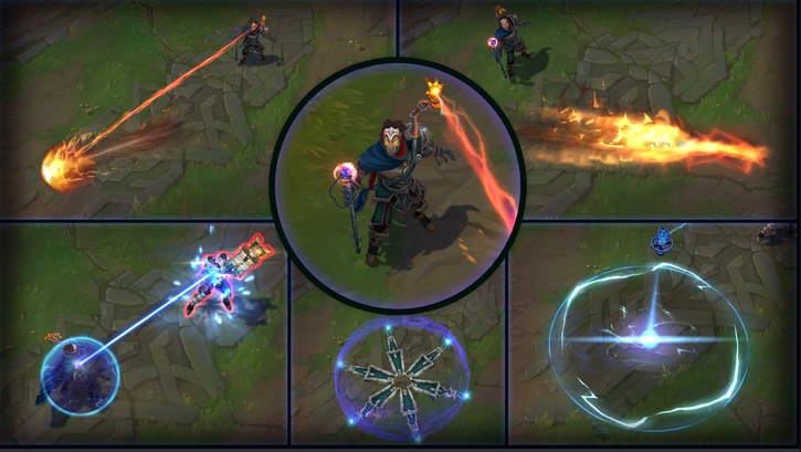 League of Legends: Visual Effects Update For 3 Champions