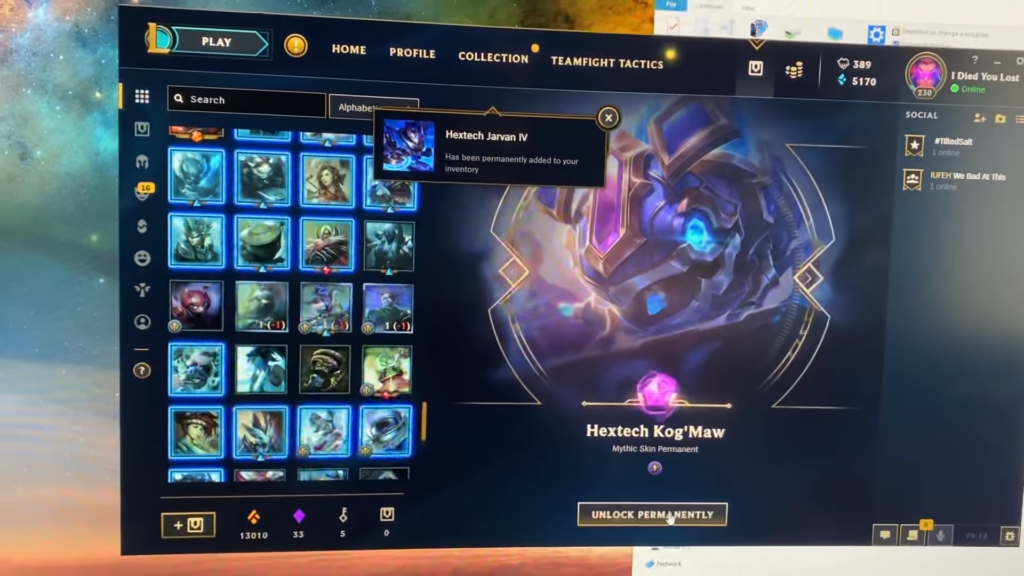 What happens when League runs out of SKINS to give you? 2