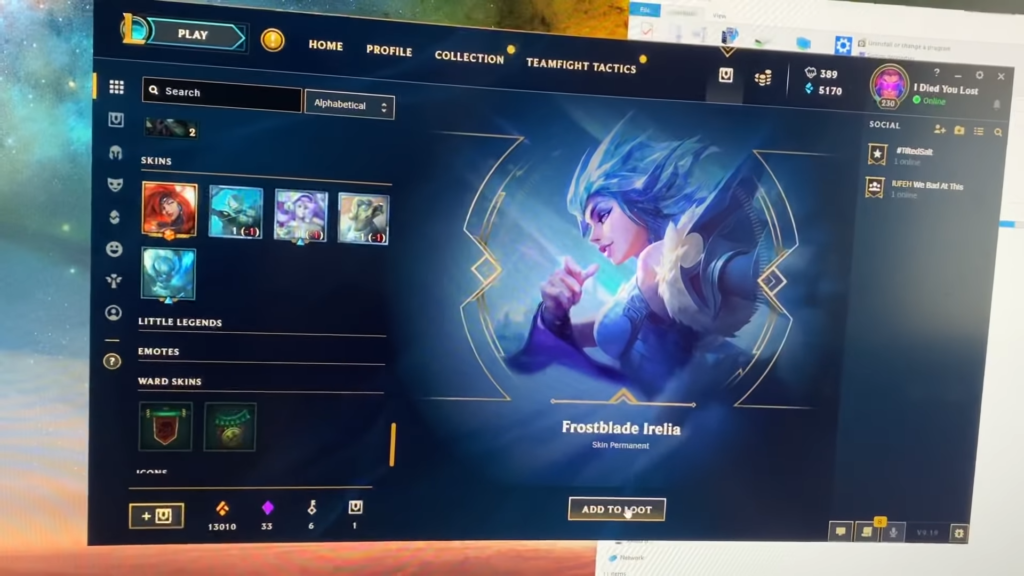 What happens when League runs out of SKINS to give you? 4
