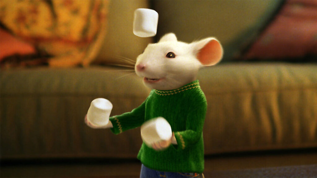 Stuart Little has come back from the 90' to Twitch 2