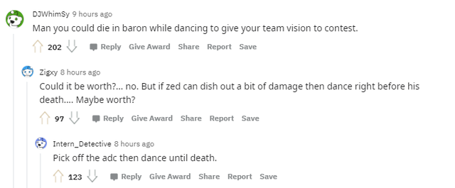 League of Legends: Zed can dance while dying to give the team vision 4