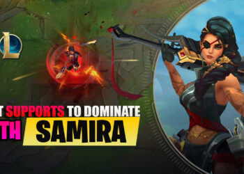 Best Supports to dominate bot lane with Samira (Part 1) 8