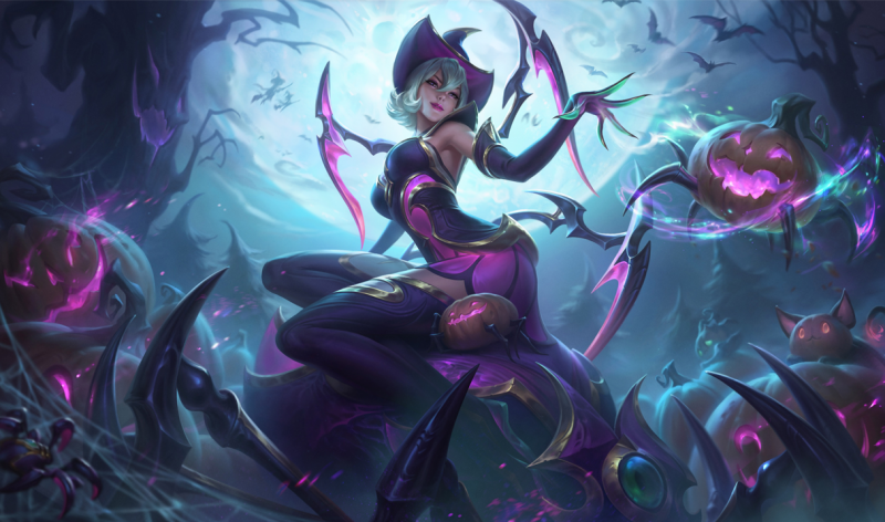 2020 League Halloween Skins New Leaked 2020 Harrowing Skin: Amumu and Elise   Not A Gamer