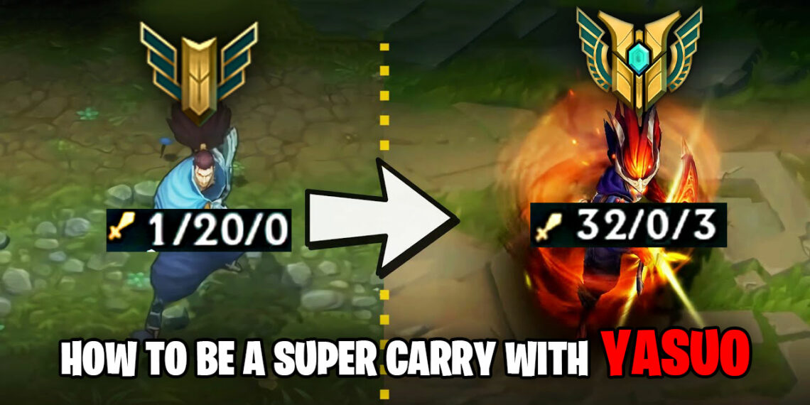 How to be a super carry with Yasuo – The Unforgiven. (Pro's Tips & Tricks!) 1