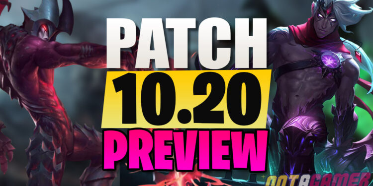 League Patch 10.20 Detailed Preview: Various Overpowered Solo Queue Picks Tweaked Down 1