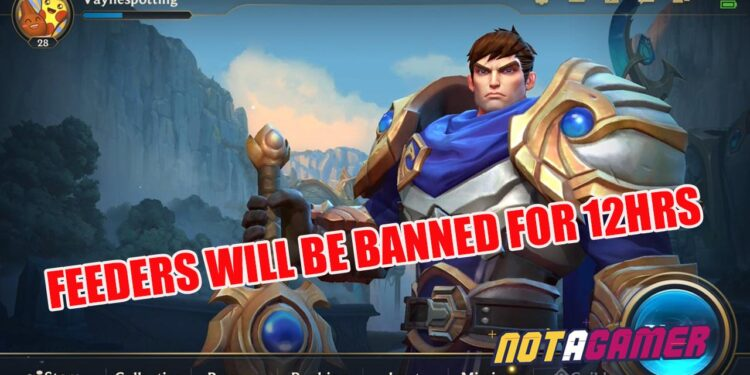 Wild Rift: Reported feeders will be Banned for 12 hours and even more with AFK!!! 1
