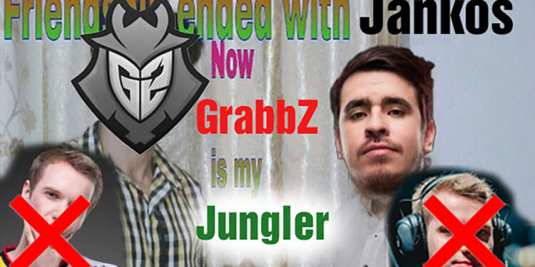 Outstanding move: G2 Esports will replace Jankos by their coach - GrabbZ 1