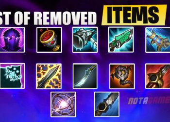 Preseason 2021: List of Removed Legendary Items 1