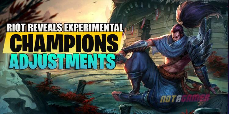 Preseason 2021: Riot reveals experimental champion adjustments