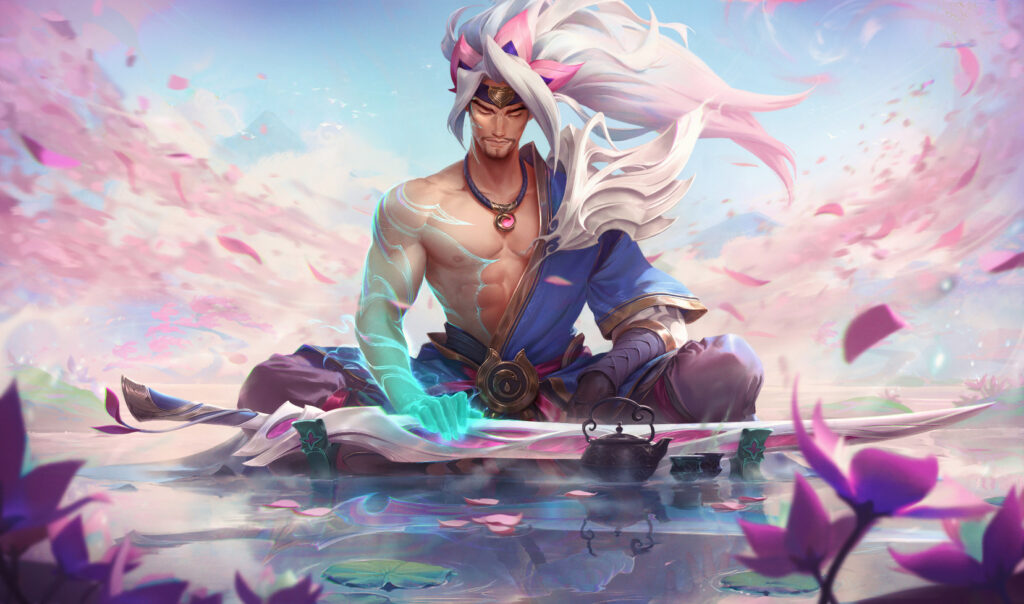 Yasuo, Teemo and Ahri hold top place in League's Spirit Blossom event for received the most petals. 2