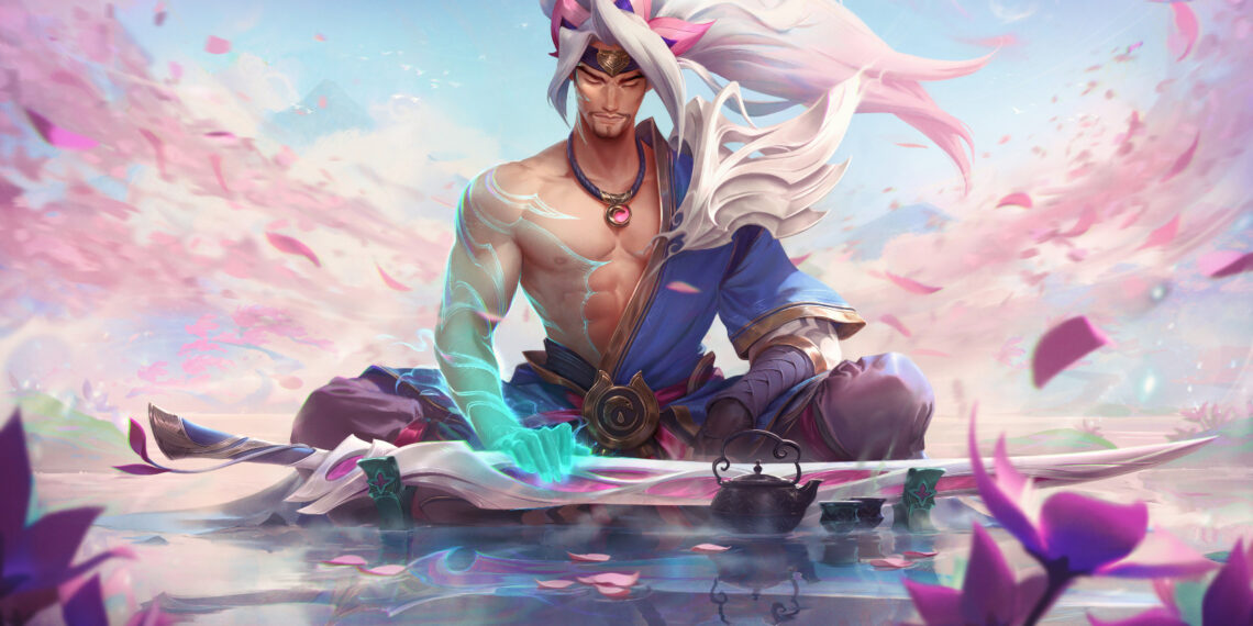 Yasuo, Teemo and Ahri hold top place in League's Spirit Blossom event for received the most petals. 1