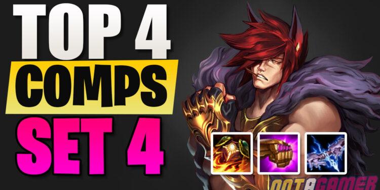 Top 4 Team Comp in TFT Season 4 1