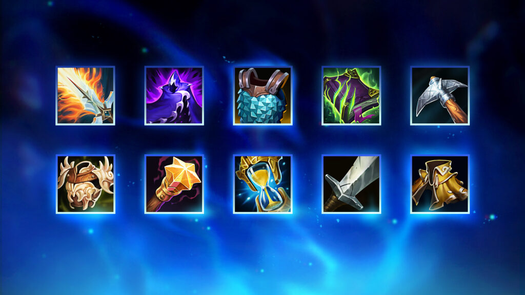 Preseason 2021: Preview on 22 Mythic Items in League of Legends