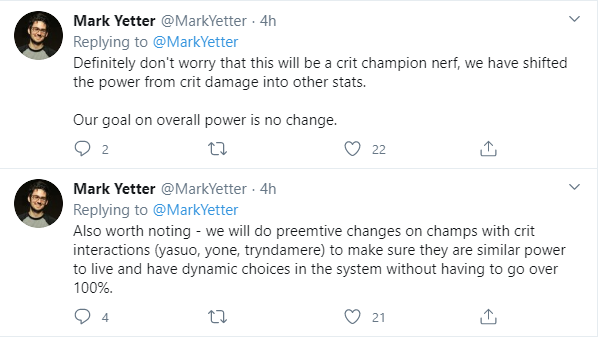 Pre-Season 2021: Adjustment for Crit System. Is it a Disaster for Yone and Yasuo? 2
