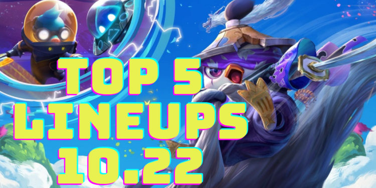 TFT GUIDE: Top 5 Strong Team Comps to climb in Patch 10.22! 1